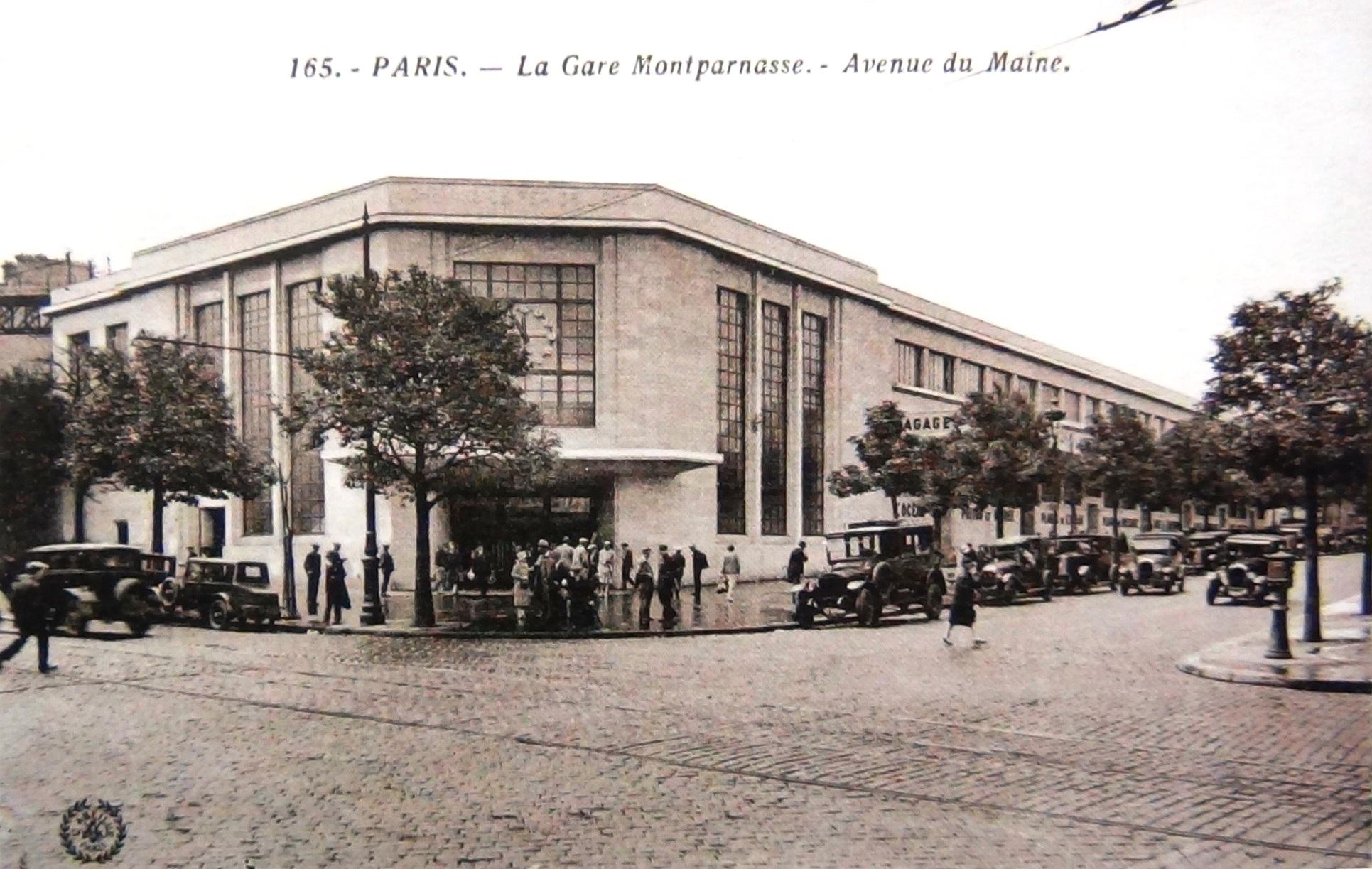 L 39 avenue du maine for Garage avenue du maine
