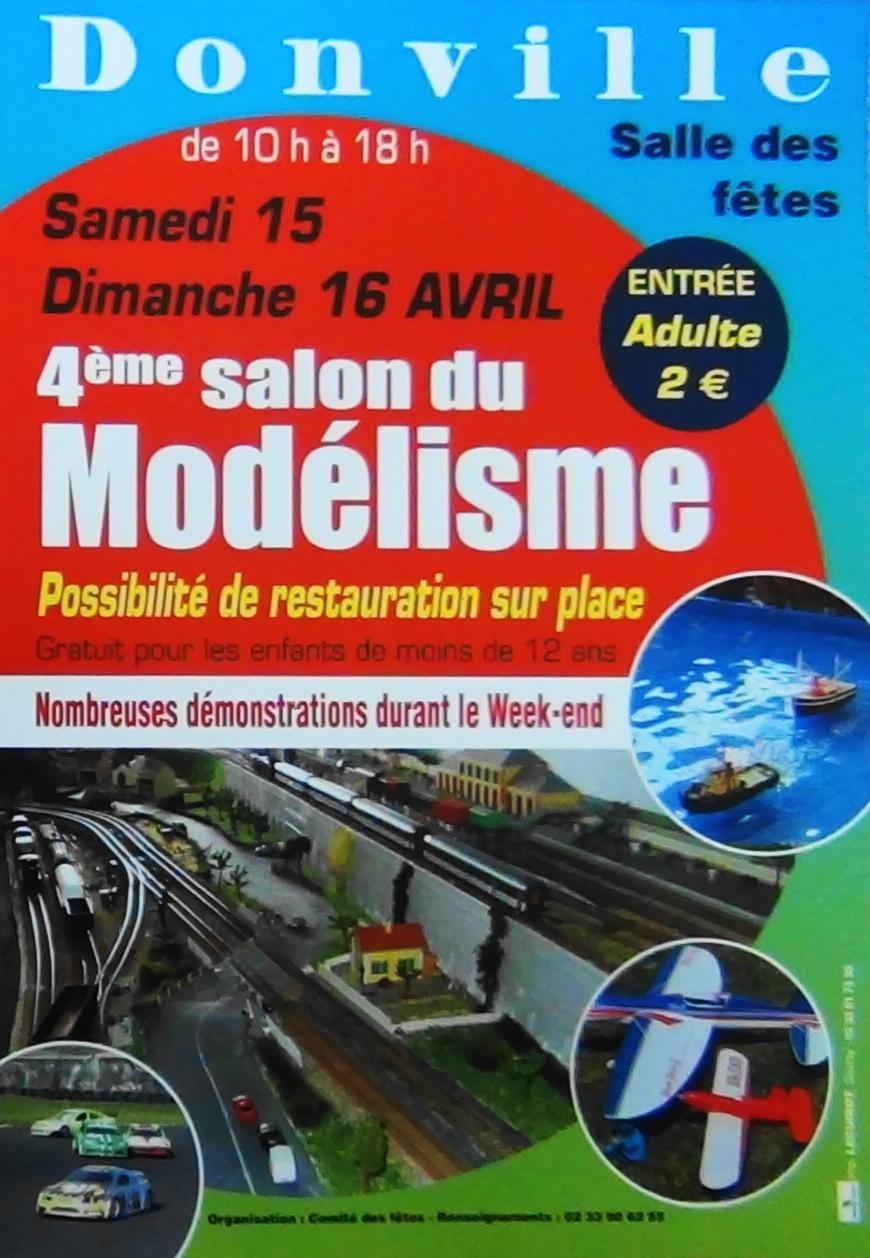 Le 4e salon du modelisme de donville for Salon du modelisme